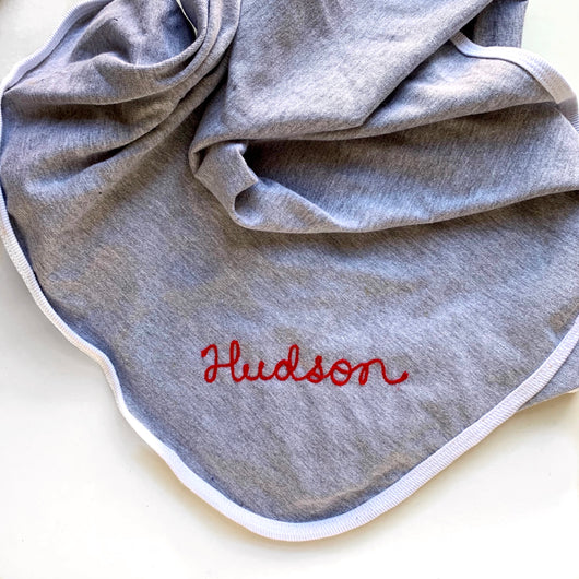 Personalized Cotton Baby Blanket