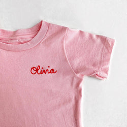 Toddler Personalized Chainstitch T-Shirt