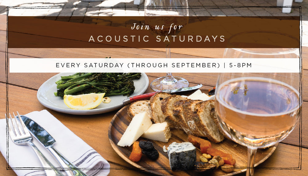 Acoustic Saturdays at Fisher's!