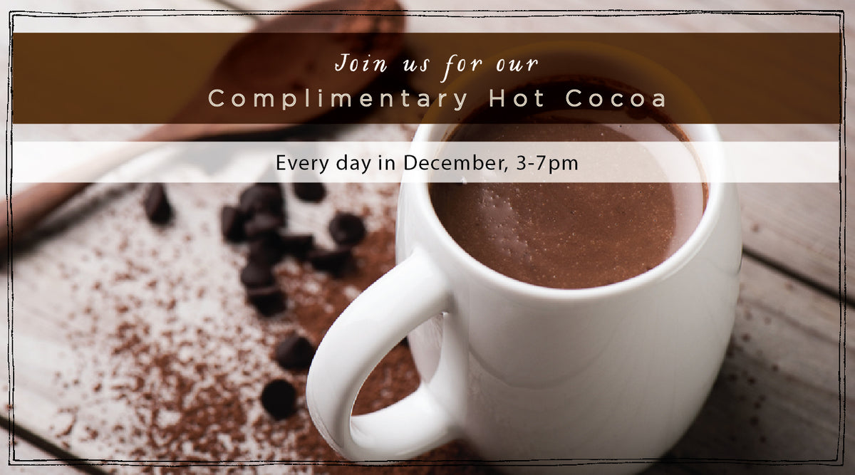 Complimentary Hot Cocoa