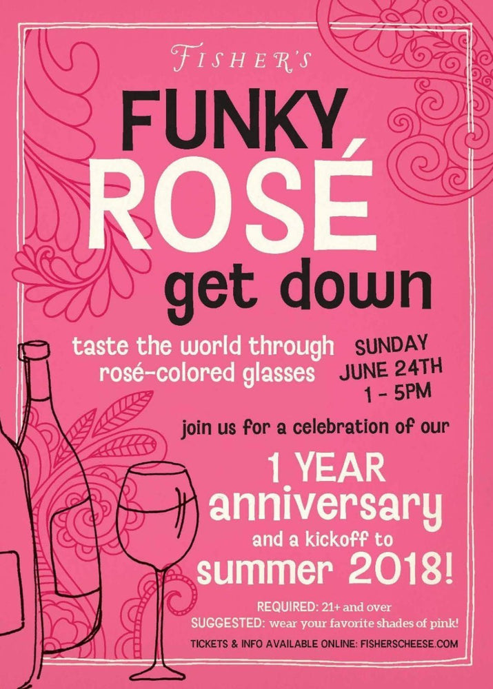 Fisher's Funky Rosé Get Down!
