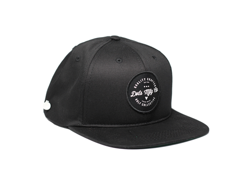 CP Snapback Golf Hat - Black