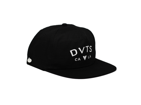 Castro Snapback Golf Hat - Black