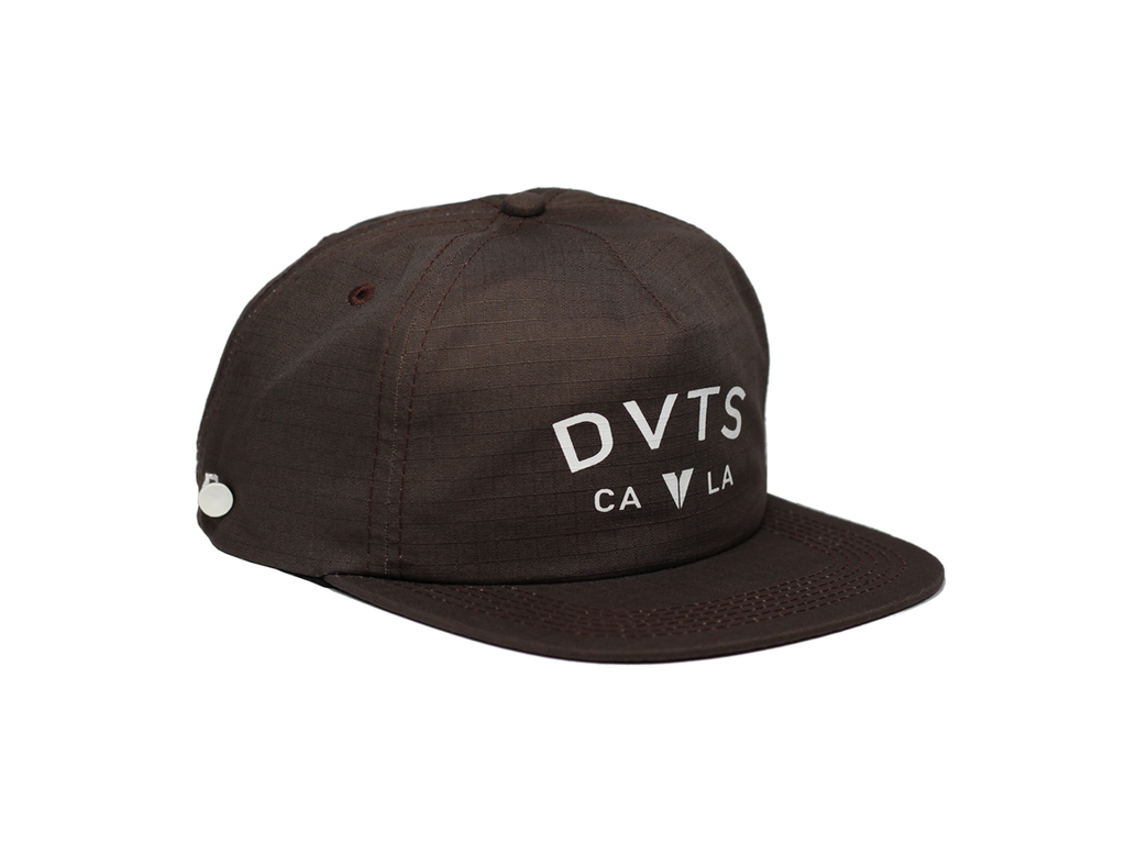 Castro Snapback Golf Hat - Brown