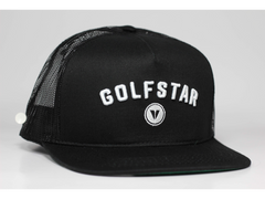 Golfstar Snapback Trucker Golf Hat - Grey