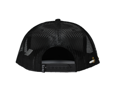 Rawnee Snapback Trucker Hat - Black