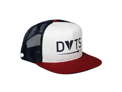 Rawnee Snapback Trucker Hat - Red