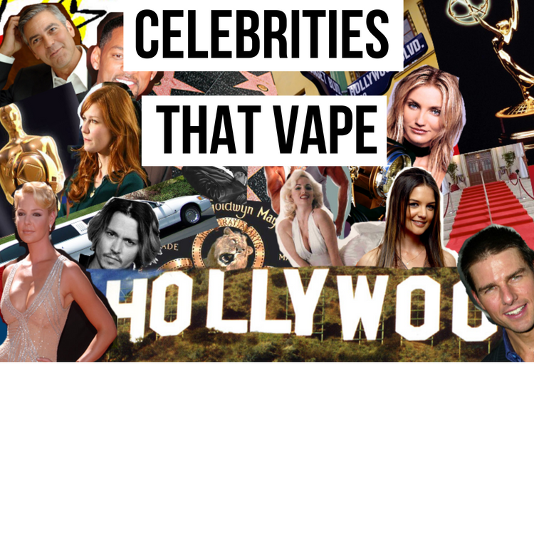 Wanna know which of your favorite celebrities vape?