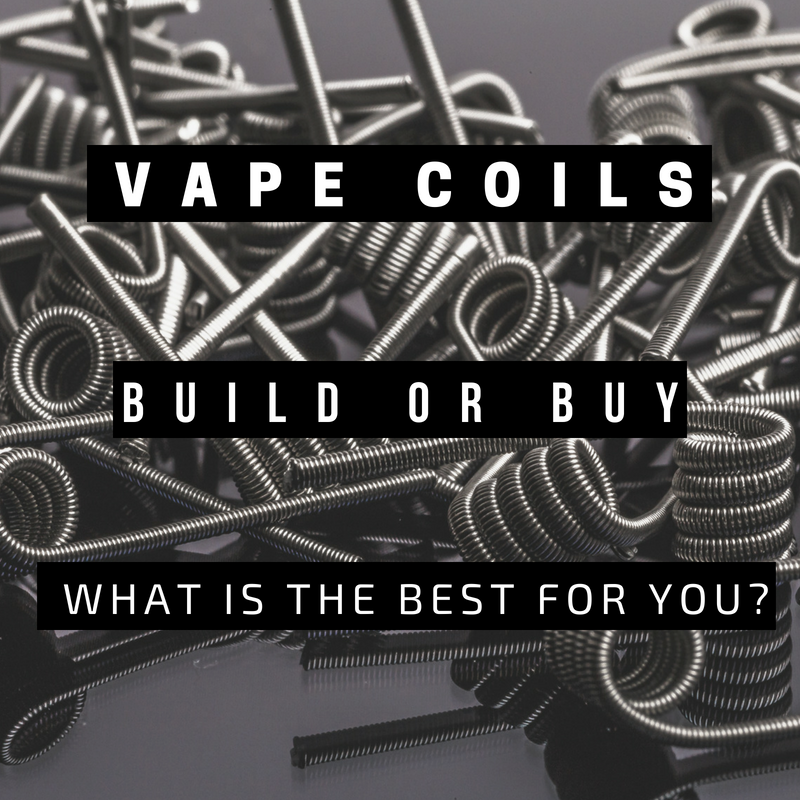 Should I Make My Own Coils or Buy Them?