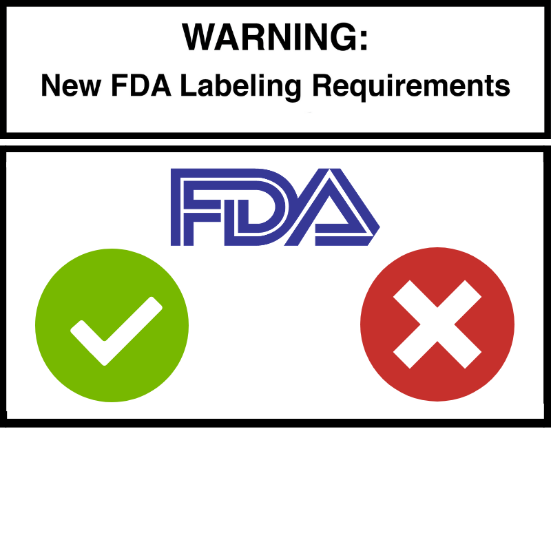What To Expect With FDA's New Labeling Requirements.
