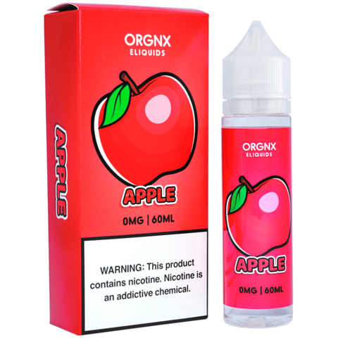 Apple by ORGNX E-Liquids (60ml)(ON SALE)