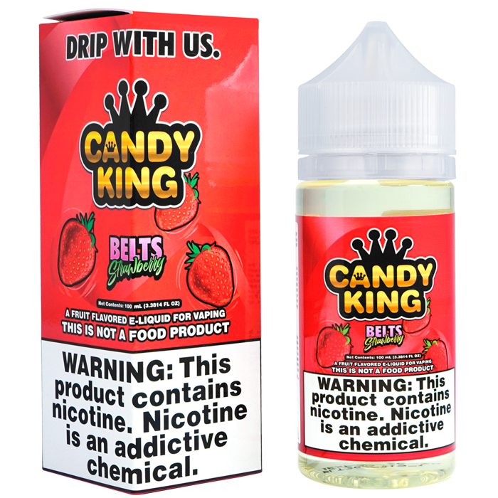 Strawberry Belts by Candy King E-liquid (100ml)