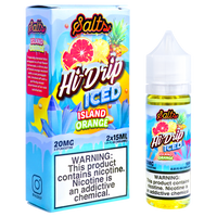 ICED Island Orange (ICED Blood Orange Pineapple) Salt Nic by HI-DRIP Salts (30ml)