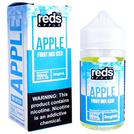 Reds Apple Fruit Mix ICED by 7 Daze E-Liquid (60ml)