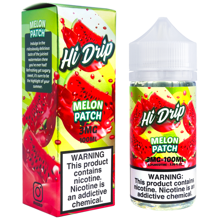 Melon Patch by HI-DRIP E-liquid (100ml)