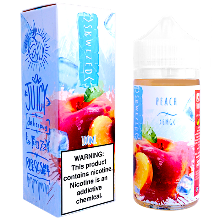 Peach ICE by Skwezed E-liquid (100ml)