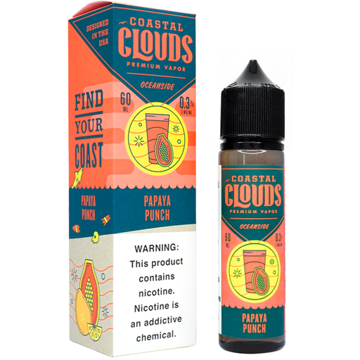 Papaya Punch by Coastal Clouds E-Liquid (60ml)