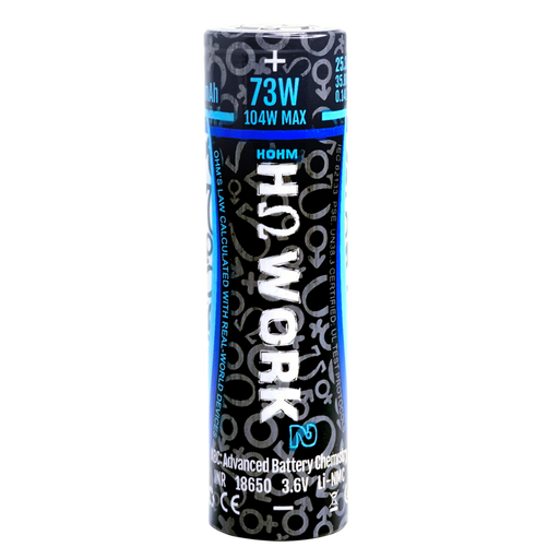 HOHM TECH WORK 2 18650 2547MAH 35.8A Battery