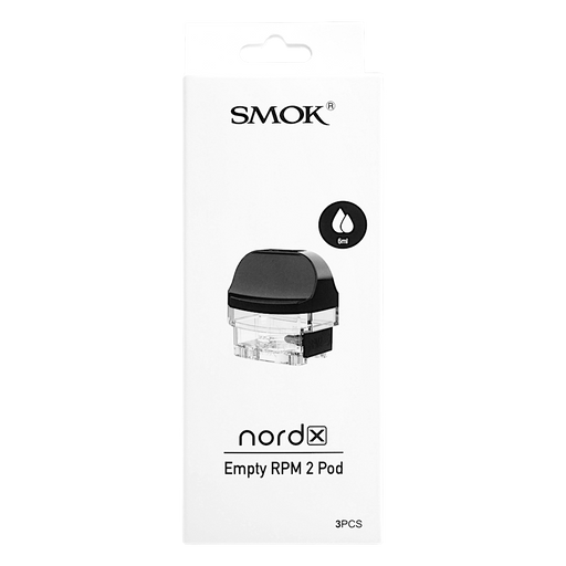 SMOK Nord X Replacement Pods w/ No Coils (3 Pack)