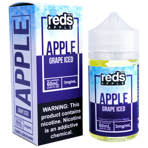 Reds Grape Apple ICE by 7 Daze E-Liquid (60ml)