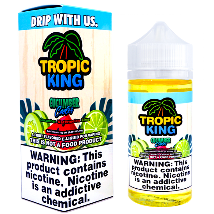 Cucumber Cooler by Tropic King E-liquid (100ml)