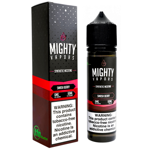 Smash Berry Synthetic Nicotine (TFN) By Mighty Vapors E-Liquid (60ml)
