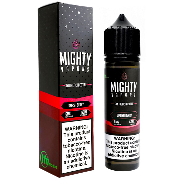 Smash Berry TFN By Mighty Vapors E-Liquid (60ml)