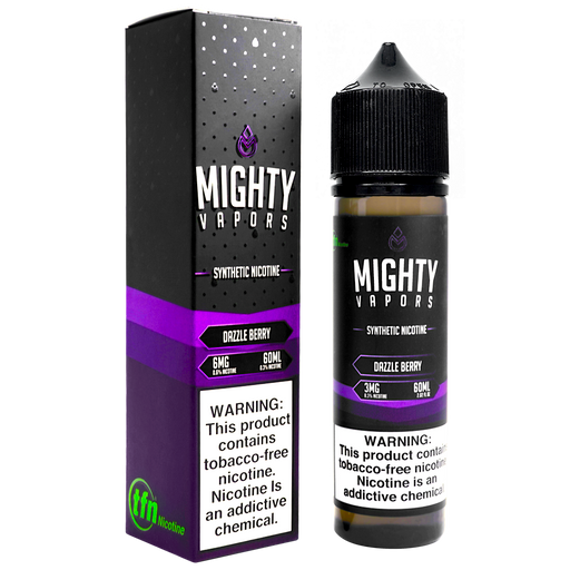 Dazzle Berry Synthetic Nicotine (TFN) By Mighty Vapors E-Liquid (60ml)