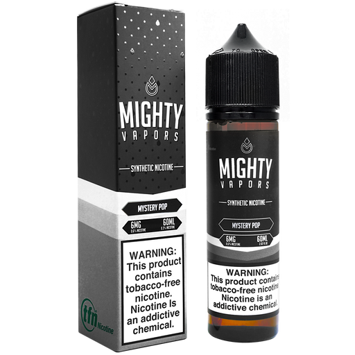 Mystery Pop Synthetic Nicotine (TFN) By Mighty Vapors E-Liquid (60ml)