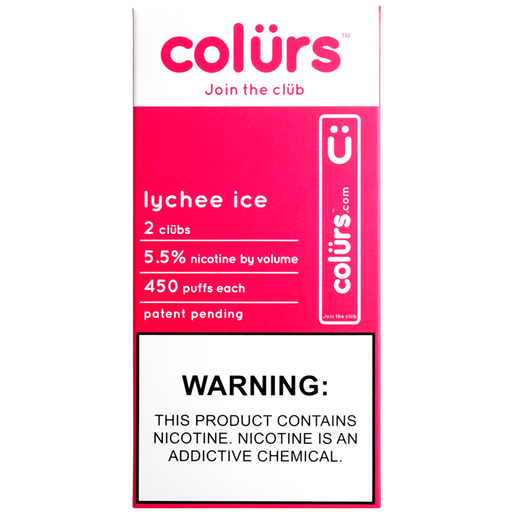 Colürs Pre-filled Disposable Device (2 PACK) (ON SALE)