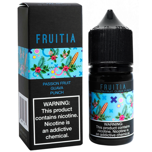 FRUITIA Passion Fruit Guava Punch Salt Nic by Fresh Farms E-Liquid (30ml)