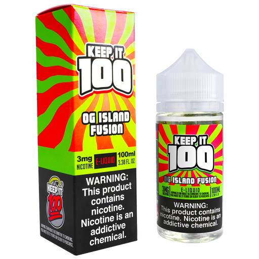 OG Island Fusion by Keep It 100 E-Liquid (100ml)