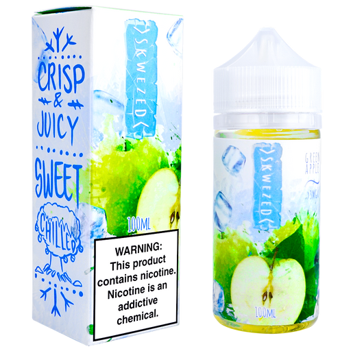 ICE Green Apple by Skwezed E-liquid (100ml)