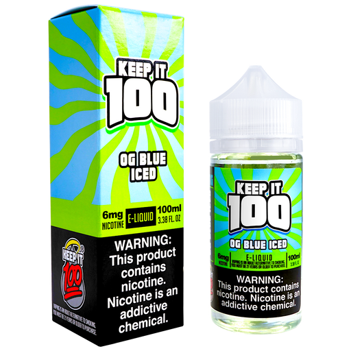 OG Blue ICED by Keep It 100 E-Liquid (100ml)