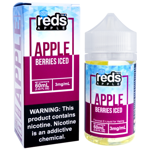 Berries ICED Reds Apple by 7 Daze E-Liquid (60ml)