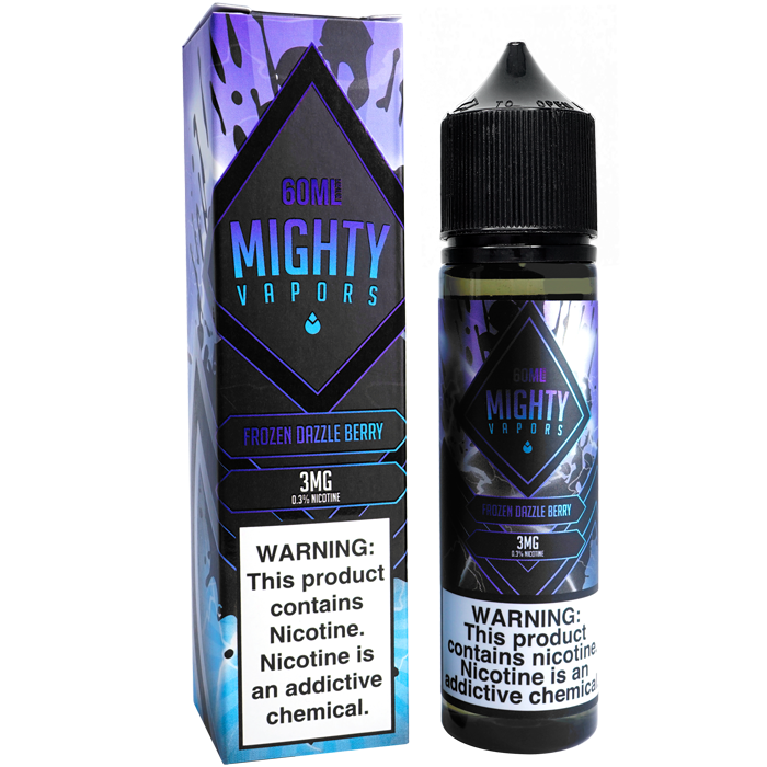 Frozen Dazzle Berry By Mighty Vapors E-Liquid (60ml)