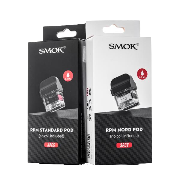 SMOK RPM Replacement Pods w/ No Coils (3 Pack)