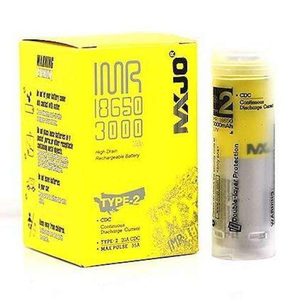 MXJO 18650 3000mAh Flat Top Battery Type 2 - E-Liquid Stop