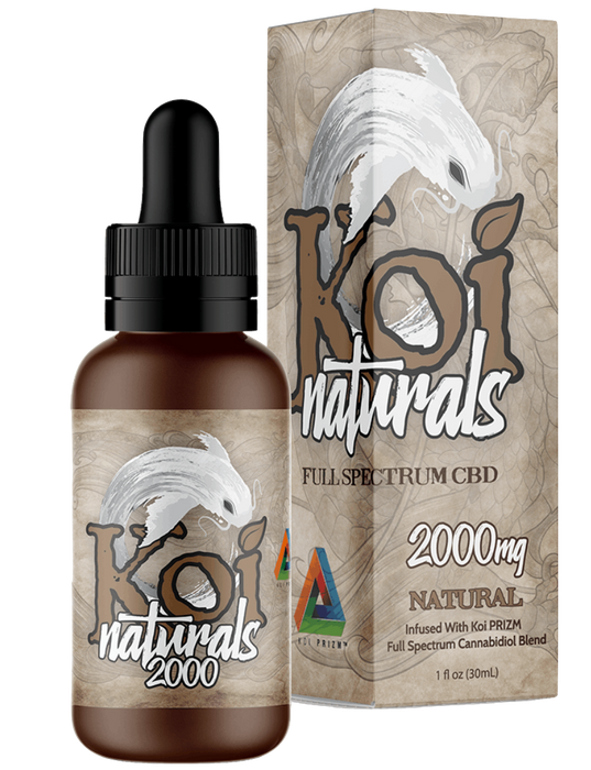 Natural FULL Spectrum CBD by Koi CBD (30ml)