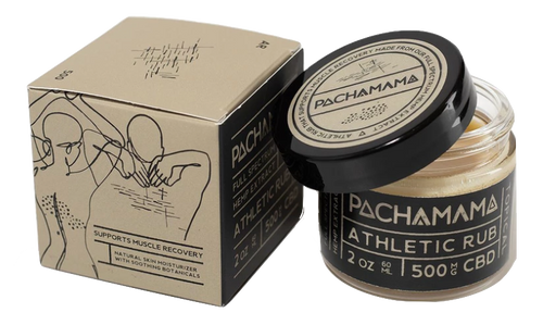 Pachamama FULL SPECTRUM CBD Athletic Muscle Rub (Muscle Recovery) by Pachamama CBD (60ml)