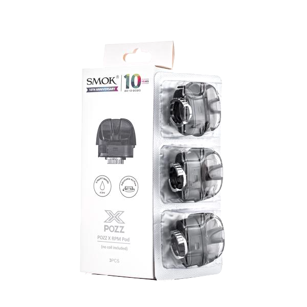SMOK POZZ X RPM Replacement Empty Pods (3 Pack)
