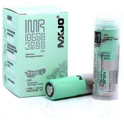 MXJO 18650 3500mAh Flat Top Battery Type 1 - E-Liquid Stop