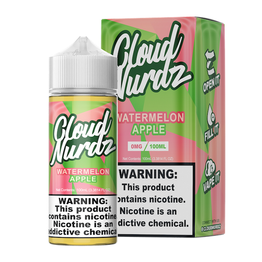 Watermelon Apple By Cloud Nurdz E-Liquid (100ml)