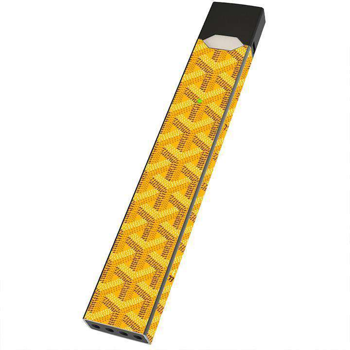 Goyard Yellow - Wraps for JUUL - E-Liquid Stop