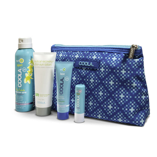 Coola Four Piece Organic Suncare Travel Set