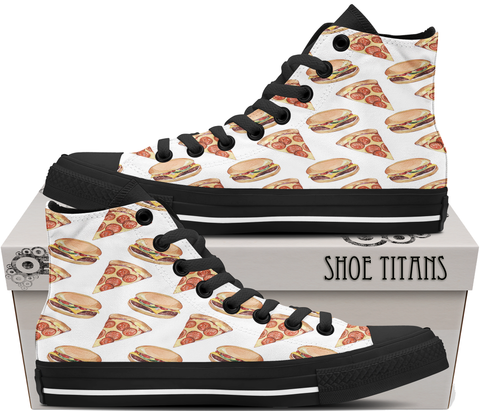 Pizza & Burgers - Men's Shoe