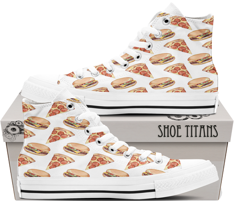 Pizza & Burgers - Ladies Shoes
