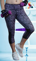 Rock'n Checkered with Mesh Pant Black/Purple - Only 6 left!!