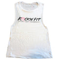 Rock'n Fit Logo Muscle Tank