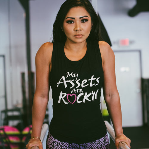 My Assets Are Rock'n Tank Black - Only 1 left!!